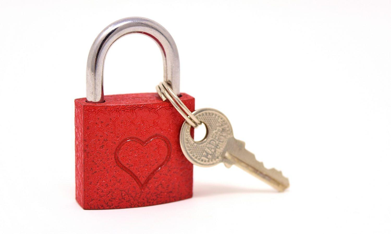 Trust Key Heart